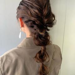 アンニュイ ヘアアレンジ ロング ナチュラル ヘアスタイルや髪型の写真・画像
