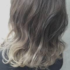 セミロング ストリート 外国人風 パンク ヘアスタイルや髪型の写真・画像