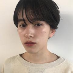 大人女子 ショートボブ マッシュ 秋冬ショート ヘアスタイルや髪型の写真・画像