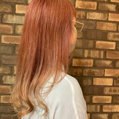 イルミナカラー ストリート セミロング スロウ ヘアスタイルや髪型の写真・画像