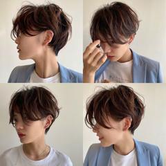 ショート ショートカット 大人ショート ストリート ヘアスタイルや髪型の写真・画像