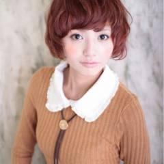 パーマ フェミニン モテ髪 秋 ヘアスタイルや髪型の写真・画像
