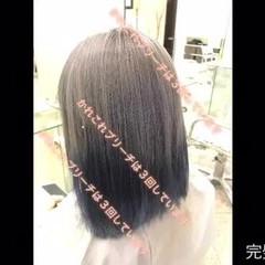 ブリーチ モード グラデーションカラー ボブ ヘアスタイルや髪型の写真・画像
