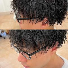 メンズ ストリート ショート スパイラルパーマ ヘアスタイルや髪型の写真・画像