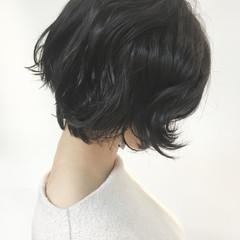こなれ感 ゆるふわ ショート 上品 ヘアスタイルや髪型の写真・画像