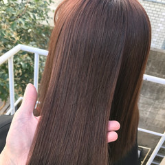 髪質改善 ロング ダメージレス ナチュラル ヘアスタイルや髪型の写真・画像