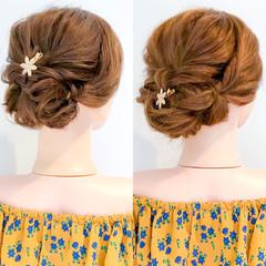ロング エレガント 上品 パーティ ヘアスタイルや髪型の写真・画像