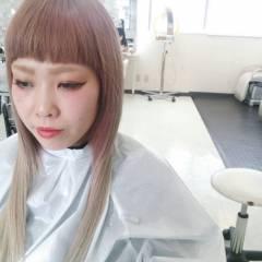 ロング 外国人風 黒髪 グラデーションカラー ヘアスタイルや髪型の写真・画像