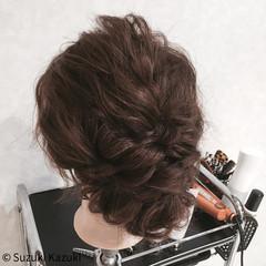 パーティ 波ウェーブ セミロング ゆるふわ ヘアスタイルや髪型の写真・画像