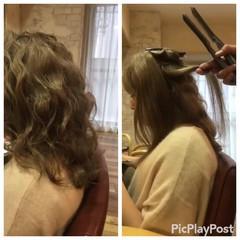 フェミニン 簡単ヘアアレンジ ショート ヘアアレンジ ヘアスタイルや髪型の写真・画像