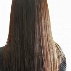 冬 コンサバ アッシュ 暗髪 ヘアスタイルや髪型の写真・画像