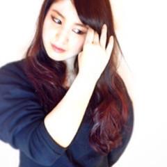 モード 愛され 外国人風カラー ピンク ヘアスタイルや髪型の写真・画像
