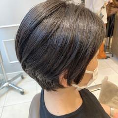 透明感カラー ベリーショート ショートヘア モード ヘアスタイルや髪型の写真・画像
