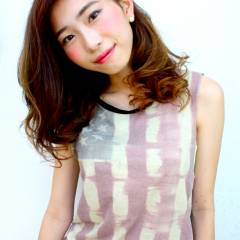 モテ髪 ナチュラル グラデーションカラー 秋 ヘアスタイルや髪型の写真・画像