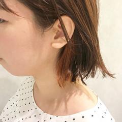 アウトドア ヘアアレンジ インナーカラー ガーリー ヘアスタイルや髪型の写真・画像
