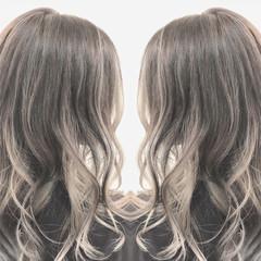 ナチュラル ロング 透明感 ハイライト ヘアスタイルや髪型の写真・画像