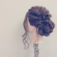 ヘアアレンジ フェミニン 結婚式 愛され ヘアスタイルや髪型の写真・画像