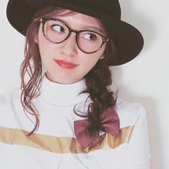 ウェーブ ヘアアレンジ ロープ編み 簡単ヘアアレンジ ヘアスタイルや髪型の写真・画像