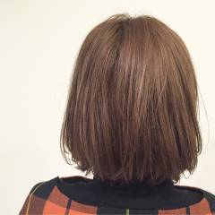 外国人風 グラデーションカラー ウェットヘア ボブ ヘアスタイルや髪型の写真・画像