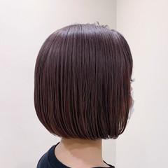 ストリート ダブルカラー ミニボブ ボブ ヘアスタイルや髪型の写真・画像