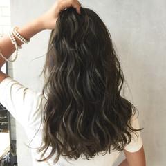 外国人風 ストリート 暗髪 モード ヘアスタイルや髪型の写真・画像