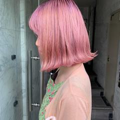 ボブ 外国人風カラー 韓国ヘア 外国人風 ヘアスタイルや髪型の写真・画像