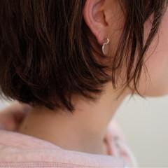 大人女子 ボブ リラックス ナチュラル ヘアスタイルや髪型の写真・画像