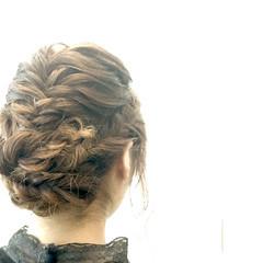 ミディアム ショート フェミニン ヘアアレンジ ヘアスタイルや髪型の写真・画像