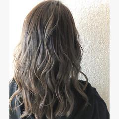 ヘアアレンジ ストリート ミディアム ハイライト ヘアスタイルや髪型の写真・画像