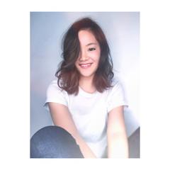 女子会 外国人風 アンニュイ リラックス ヘアスタイルや髪型の写真・画像