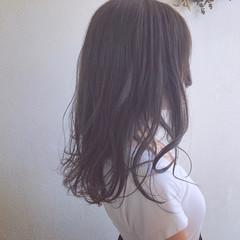 ナチュラル 簡単ヘアアレンジ グレージュ アンニュイほつれヘア ヘアスタイルや髪型の写真・画像