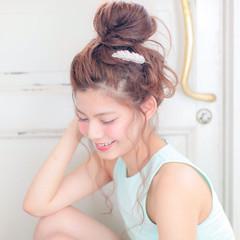 大人かわいい ルーズ ヘアアレンジ ゆるふわ ヘアスタイルや髪型の写真・画像