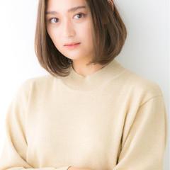 女子力 ナチュラル 小顔 イルミナカラー ヘアスタイルや髪型の写真・画像