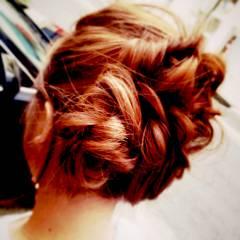 ナチュラル ゆるふわ ヘアアレンジ ヘアスタイルや髪型の写真・画像
