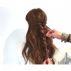 デート 夏 色気 ヘアアレンジ ヘアスタイルや髪型の写真・画像