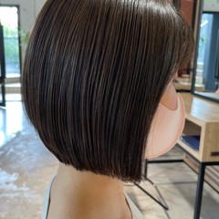 ミニボブ ショートヘア ボブ モテボブ ヘアスタイルや髪型の写真・画像