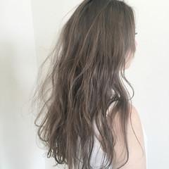 ダブルカラー 透明感 ロング 抜け感 ヘアスタイルや髪型の写真・画像
