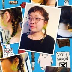 個性的 オン眉 ガーリー 秋 ヘアスタイルや髪型の写真・画像