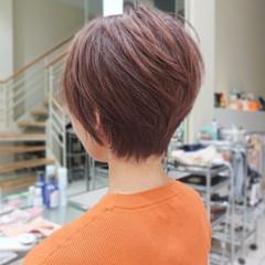 ショート ハイライト ベリーショート ウルフカット ヘアスタイルや髪型の写真・画像