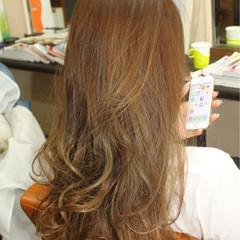 フェミニン ロング ガーリー ゆるふわ ヘアスタイルや髪型の写真・画像