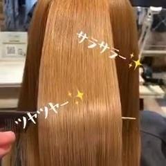 サイエンスアクア 髪質改善 艶髪 エレガント ヘアスタイルや髪型の写真・画像