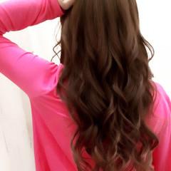 ロング 大人かわいい 暗髪 渋谷系 ヘアスタイルや髪型の写真・画像