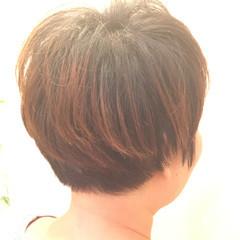 ナチュラル ショート 佐藤栞里 ヘアスタイルや髪型の写真・画像