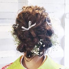 ミディアム 外国人風 ゆるふわ ショート ヘアスタイルや髪型の写真・画像