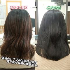 守山区 オフィス ロング トリートメント ヘアスタイルや髪型の写真・画像
