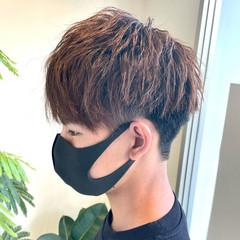 メンズ メンズヘア ストリート メンズマッシュ ヘアスタイルや髪型の写真・画像