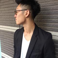 パーマ ストリート ショート メンズ ヘアスタイルや髪型の写真・画像
