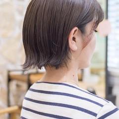 ショートヘア 外ハネ ショートボブ ボブ ヘアスタイルや髪型の写真・画像