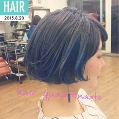 ダブルカラー シルバー カラーバター ガーリー ヘアスタイルや髪型の写真・画像