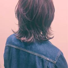 色気 ストリート フェミニン 冬 ヘアスタイルや髪型の写真・画像